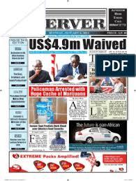 Liberian Daily Observer 01/06/2014 | Money Laundering | Ennahda Movement