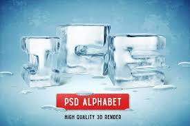 ice psd alphabet exle image 1