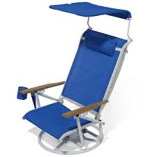 The Suntracking Beach Chair - Hammacher Schlemmer