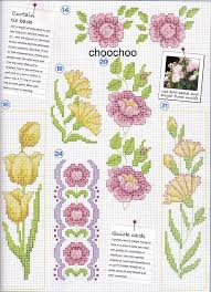Sue Page Cross Stitch Designer Flower Designs By Sue Page 6 7 Etamin Cross Stitch
