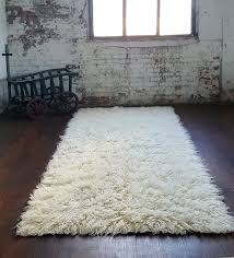 super thick 4 x6 natural flokati rug plush 3 25 pile 100 wool hand made contemporary area rugs by flokati rugs