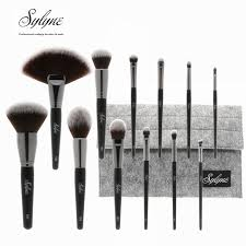cosmetic brush set. sylyne 12pcs full professional makeup brush set holder high quality soft make up brushes kit tools cosmetic