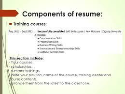 Examples Resume Presentation Skills Writing Mmventures Co