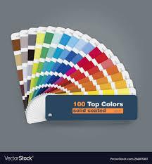 Print Web Design 100 Top Colors Palette Guide For Print Web Design