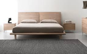 Wooden double bed SIERRA: queen-size. Calligaris CS/6045-Q  Modern Platform  ...