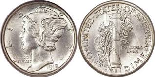 Mercury Dime Coin Value 1916 To 1945 Coin Value Chart