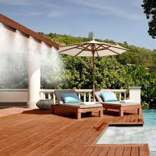 Patio Misting System  Featured Home Products  Pinterest  Patios Backyard Misting Systems