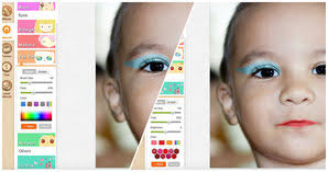photocat has a set of makeup tools extremely powerful