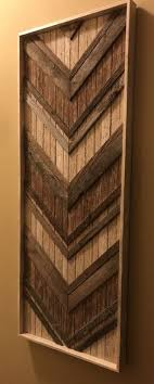 50 herringbone and chevron wood art