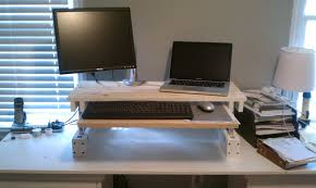 Workhack Standing Position Code Over Easy Diy Adjustable Desk For Under 25 Code Over Easy