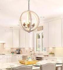 wood orb lighting wood orb chandelier distressed 6 light chandelier large wood orb for elegant home