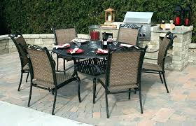 outdoor dining table for 6 patio table 6 chairs metal garden table chairs chic round outdoor