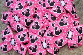 Pink And Black Minnie Mouse Decorations Birthday Favors
