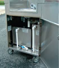 outdoor stainless steel sink cart ideas