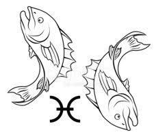 Pisces Horoskop Astrologie Znamení Vektory Z Knihovny Clipartme