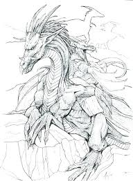 Dragon Coloring Pages Free Antiatominfo