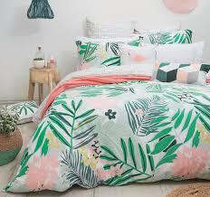 Best 25+ Double bed linen ideas on Pinterest | Double duvet set ... & Bambury Lani Hawaii 100% Cotton Quilt Doona Cover Set - SINGLE DOUBLE QUEEN  KING Adamdwight.com