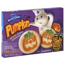 pillsbury halloween sugar cookies.  Pillsbury Pillsbury Ready To Bake Pumpkin Shape Sugar Cookies U2011 Shop Biscuit U0026 Cookie  Dough At Hu2011Eu2011B Intended Halloween S