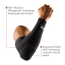 Mcdavid Hexpad Leg Sleeve Size Chart Hex Shooter Arm Sleeve Single