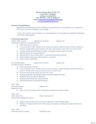 Resume Career Summary Fishingstudio Com
