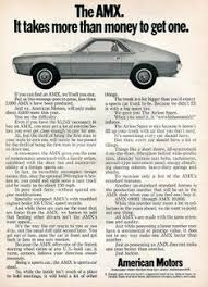 picture of amc amx exterior amc rocks to be 1968 american motors amc amx advertising road track 1968