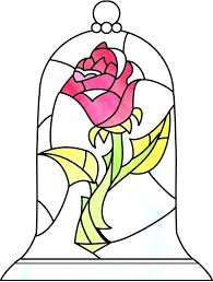 stained glass rose beauty and the beast beauty and the beast stained glass rose beauty and stained glass rose