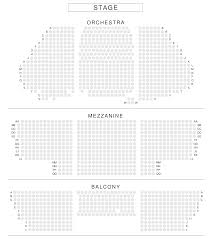 Amsterdam Theatre Nyc Seating Chart New Amsterdam Theatre Seating Chart View From Seat New
