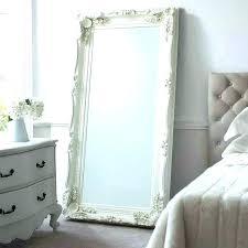 white floor mirror. White Modern Floor Mirror Vintage Length Mirrors Bedroom Ideas For Furniture Stores In Houston