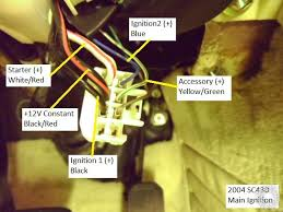 how can i wire my led to fuse box on sc430 2002 club lexus forums you can wire it through the acc accessory switching via the ignition wiring loom no worries about leaving it on then