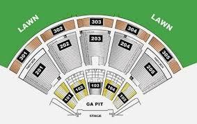 Ak Chin Pavilion Seating Chart With Seat Numbers Ak Chin Pavilion Seating Chart Ak 2019 09 11