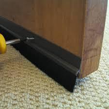 bottom door guard. pvc brush bottom door seal . guard g