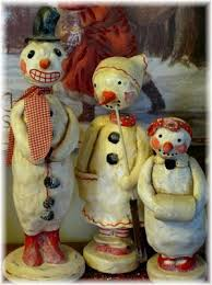 Victorian Whimsies: November 2011 | Christmas snowman, Frosty the snowmen,  Prim christmas