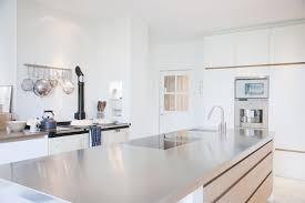 Outdoor Kitchen Ventilation Kitchen Delicate Brushed Stainless Steel Countertop Backsplash