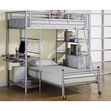 china dormitory steel bunk bed loft bed frame with desk and storage shelf