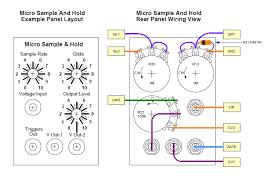 panel templateandwiring gif micro sample sound lab plus wiring diagram
