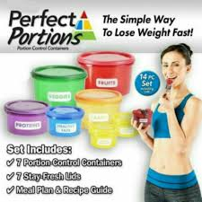 [WM <b>FREESHIPPING</b>] Get Fit Perfect Portions <b>7Pcs Set</b> Containers ...