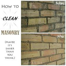 how to clean fireplace bricks with vinegar best fireplace brick cleaner ideas on news stain brick