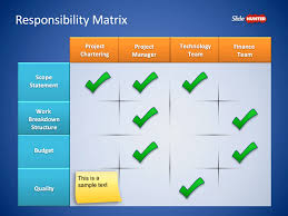 Roles Responsibilities Matrix Powerpoint Template Is A
