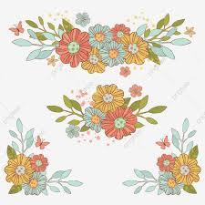 Spring Bouquet Flower Decorative Party Summer Birthday