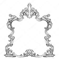 Mirror frame vector Tumblr Transparent Luxury Baroque Rococo Mirror Frame Set Vector French Luxury Rich Carved Ornaments And Wall Frames Victorian Royal Style Frame Vector By Inagraurymail Depositphotos Luxury Baroque Rococo Mirror Frame Set Stock Vector Inagraur