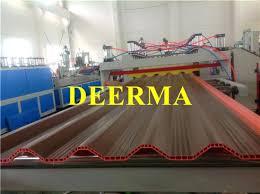 plastic corrugated roofing china plastic glaze roof tile production line plastic corrugated roof sheet machine plastic