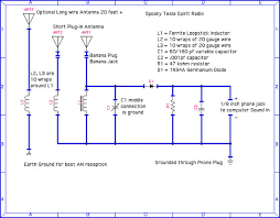 spooky tesla spirit radio steps pictures parts list and schematic diagram