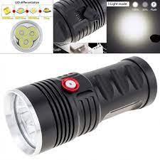 Đèn Pin Led 8000lm 3 Xh-P50 Công Suất Lớn