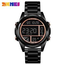 SKMEI 1448 Luxury <b>Fashion Men</b>/<b>Male</b> Digital Wristwatch <b>30M</b> ...