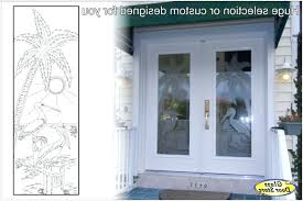 etched glass doors etched glass front doors a inspire modern frosted glass front door with impact