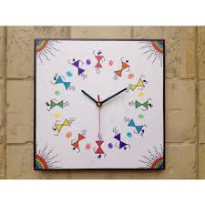 Small Picture 13 best Wall clocks with Warli Art images on Pinterest Indian