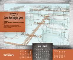 Calendar June July 2015 Golden Valve Desktop Calendars Intergraph