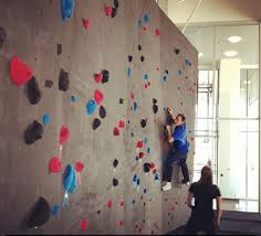 adobe office.  adobe rock climbing wall in the adobe lehi office with office n