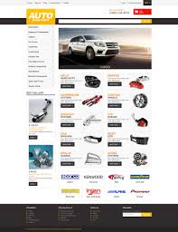 auto parts website template auto parts responsive shopify theme 47703
