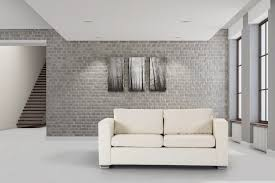 modern white floors. Ideas Grey Wall Contemporary Interiors With Stone Floors White Off Sofas On The Modern I